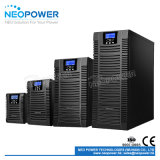 10kVA 3 단계 RS232 포트를 가진 고주파 디지털 온라인 UPS
