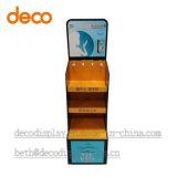 Kosmetische Pappausstellungsstand-Papier-Bildschirmanzeige-Zahnstange für Förderung