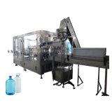 máquina que capsula de relleno que se lava del agua embotellada 3-10L