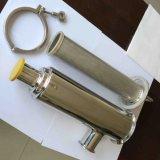 Industrielle flüssige Filtration-gesundheitliches Filter-Edelstahl-Gefäß-Filtergehäuse