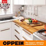 6 der L-förmige nordische Art-kleinen Quadratmeter Küche-(OP16-L27)