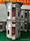 Машина для плавления промежуточной частоты для алюминия / Cpopper / концентрата золота / серебряного концентрата