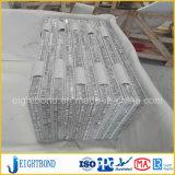 Het marmeren Aluminium Honey&simg van de Steen; Het Comité van Omb voor Meubilair