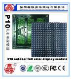 Módulo ao ar livre energy-saving do indicador de diodo emissor de luz da cor cheia do MERGULHO P10 para anunciar