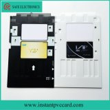 Bac à cartes de PVC de jet d'encre pour Epson L800, T50, T60, imprimante P50