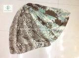 Neue Entwurfs-Schal-Form-Dame Scarf mit Snakeskin gedruckt