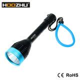 La luz 1000lm máximo del salto de Hoozhu D11 impermeabiliza la linterna del 120m LED