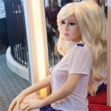 muñeca verdadera del amor del 165cm con el esqueleto del metal flexible