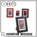 Frame de madeira inacabado cru da foto do retrato para DIY