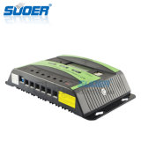 Regulador inteligente solar de la potencia de carga de Suoer 12V 30A con el interfaz doble del USB (ST-C1230)