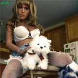 Jarliet festes Silikon-junge reizvolle nette Mädchen-Liebes-Puppe für Mann-Masturbation-reale Vagina