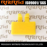 Tag reusável da pálete do PVC RFID do plástico da escala longa da freqüência ultraelevada para a logística