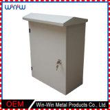 Caixa pequena feito-à-medida do metal de folha do cerco da fonte da fábrica
