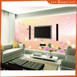 Las ventas calientes modificaron la pintura al óleo del diseño para requisitos particulares de la flor para la decoración casera (modelo No.: HX-5-046)