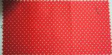 Tissu de satin de polyester avec l'enduit d'unité centrale