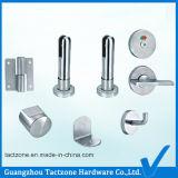 Acier inoxydable de précision de bâti de partition élégante de toilette 304 accessoires