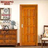 Multi Panel-Furnier-Blattfester hölzerner Tür-Entwurf (GSP6-018)