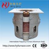黄銅のための電気誘導加熱を投げ、溶かす500kg精密