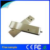 China Manufacter drehen Edelstahl-Metalltorsion USB-Stock 8GB