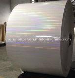 papier transparent de laser de lumière blanche du carton 375g