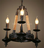 Phineのホームまたはホテルの装飾的な金属及びロープのペンダント灯
