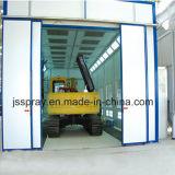 Grande cabina di spruzzo industriale non standard della vernice