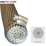 裸のコンダクターACSRのアルミニウムコンダクターアルミニウム覆われた鋼鉄によって補強されるACSR/Aw