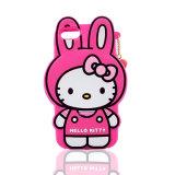 iPhone 6s/6plusの携帯電話カバー(XSK-012)のためのかわいいこんにちはのキティのシリコーンの箱
