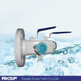Anis/Asme/DIN/Ss/CS Double Bleed e Double Block Ball Valve (DBB)