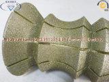 Electroplated профилируя колесо для мраморный известняка