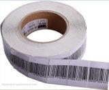 Etiqueta da etiqueta macia EAS RF do código de barras para o supermercado