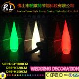 Decorazione di plastica di cerimonia nuziale della lampada di incandescenza di Morden LED