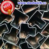 Подгонянная гальванизированная ERW обжигая труба специального раздела стальная