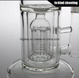 Tubo di acqua di fumo di vetro del tubo del commercio all'ingrosso di vetro di alta qualità