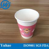 茶のための単一の壁のPEの熱い紙コップ