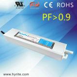 fonte de alimentação impermeável do diodo emissor de luz PF>0.9 da tensão constante de 30W 12V