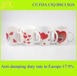 Drucken-keramische Kaffeetasse des Abziehbild-11oz für Valentinstag-Geschenk