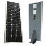 panneau tout de 20W DEL 50W dans un réverbère solaire