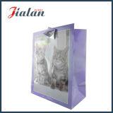 El color impreso gato de la insignia de Cmyk vende al por mayor el bolso del regalo del papel hecho a mano