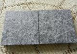 Os cubos pretos os mais baratos dos cubos do basalto, os pretos e os cinzentos do basalto na pedreira de China