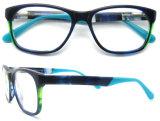 2016 marcos ópticos de la venta de la manera del acetato de Eyewear del acetato del marco hecho a mano caliente de la lente venden al por mayor