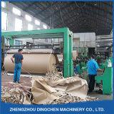 papel Waste de 2400mm que recicl a linha para papel ondulado