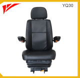Leather Cover Air Suspension Driver Bus Seats