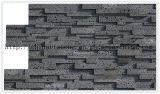Azulejo de mármol gris del orificio de la lava del travertino de piedra de la piedra para la piedra de la cultura de la pared