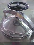 Stérilisateur vertical d'autoclave à vapeur de roue de main d'affichage à cristaux liquides