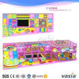 Cour de jeu d'intérieur de gosses de thème de sucrerie pour le poste réglé de vente chaud