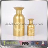 Nuova bottiglia di alluminio vuota della polvere con la parte superiore del setaccio