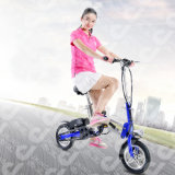 最新のFoldable 12インチの電気自転車のEバイク
