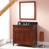 Vanity de salle de bain en bois de style America