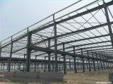 Taller Pre-Dirigido del acero estructural, vertiente del almacenaje, almacén ligero de la estructura de acero